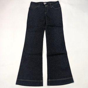 J. Jill Flare Leg Stretch Size 2P Dark Wash Jeans